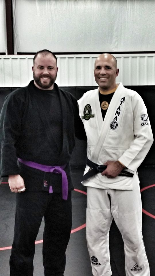 Jeffrey Wall practicing Brazilian Jiu-Jitsu